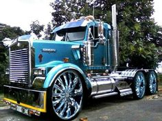 I can't even imagine how much those rims cost! Super Sharp, eating up the road!