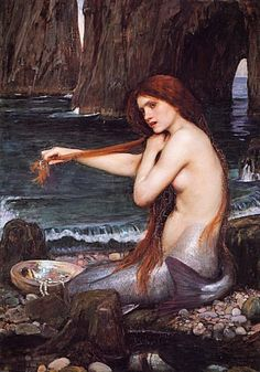 Forgotten Fairies of Irish Folklore. A Merrow woman. Mermaids of Scots/Irish folklore.