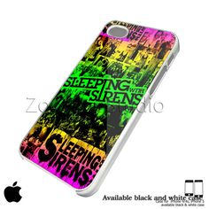 sleeping with sirens Custom case For iphone by ZooCaseStudio, $15.99