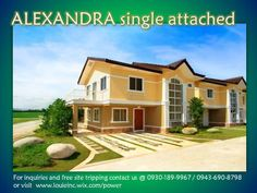 ALEXANDRA single attached 4bedrooms, 120sq.m. for only P23,000 per month. Avail now!!!