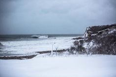 Some people say snowboarding is like surfing in the snow, but we think surfing in the snow is like surfing in the snow. Montauk, NY