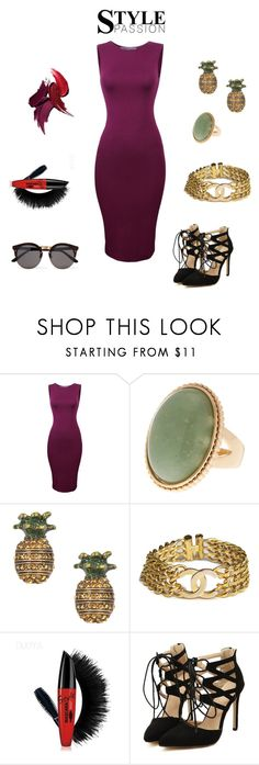 """""""summer sparkle and shine"""" by cassandra-beauchamp ❤ liked on Polyvore featuring Marc Jacobs, Chanel and Illesteva"""