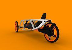 'Seon', a trike designed by Luis Cordoba Power Bike, Chopper Bike, Cargo Bike, Bicycle Maintenance, Cool Bike Accessories, Pedal Cars, Bike Frame, Bike Design, Go Kart