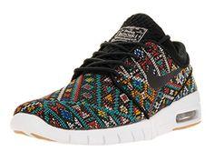 online store 22e64 fc11b Men s Stefan Janoski Max PRM Black Black White Gum Skate Shoe, 11 US -