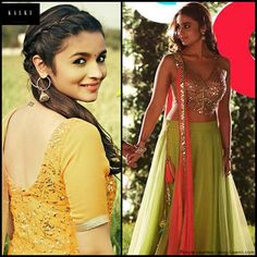 Alia Bhatt Lehenga From Student Of The Year Now Available ...