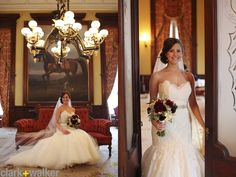 Gorgeous bride, and dress from Jim Hjelm