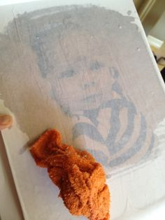 I did this today! I used a photo printed on regular paper using my HP ink-jet printer at home, though. I didn't expect it to work, so I used an odd shaped piece of wood just to experiment with. I'm amazed. Don't know why all the tutorials say use only laser printed photos.