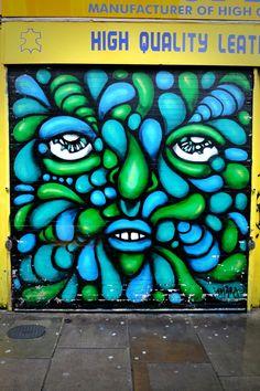 Amara por dios - street art london shoreditch - bricklane nov 2014