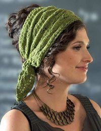 Jasmin Headscarf, from French Girl Knits Accessories