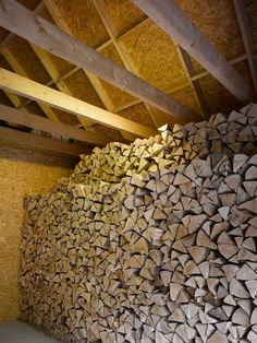 Image 8 of 26 from gallery of Family House in Klokočná / Studio pha. Photograph by Filip Šlapal Modern Barn House, Logs, Outdoor Spaces, Studios, Dreaming Of You, Shed, Gallery, Prague, Barns