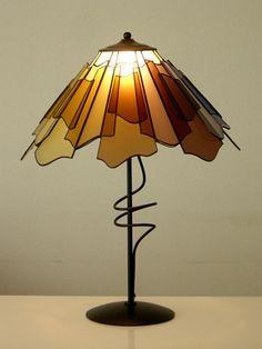 札幌 ステンドグラス 教室 建築 グラスアートファクトリー(ギャラリー) Glass Pendant Light, Pendant Lighting, Chandelier, Stained Glass Light, Fused Glass, Tree Lamp, Lights Fantastic, Tiffany Lamps, Vintage Lamps