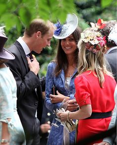 8/14/2009: Wedding of Nicholas Van Cutsem & Alice Hadden-Paton, with Prince William (Westminster, London)