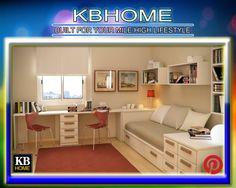KBhome Modern Study Room #KBhome