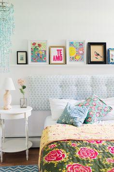 Art and Textiles Bejewel a Designer's Vermont Home | Design*Sponge