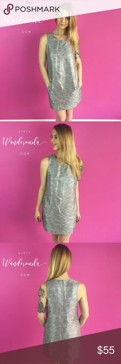The Silver Shine Dress by BB Dakota BB Dakota Silver Shine Shift Dress  - Brand sold at Various Retailers such as Nasty Gal, Nordstrom, Revolve, Urban Outfitters, and more!  Size Small.  Purchased directly from manufacturer. Tags still attached. Perfect New Years Eve NYE Dress!  Offers Encouraged! Buy two or more items and get 15% off your purchase! 🛍✌️️ Inquire about custom bundles!  10% of sales are donated to Speak Up Bangladesh - Working to combat child marriage 🌏 BB Dakota Dresses…