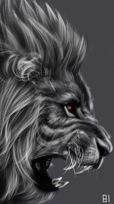 Lion by adorables funny graciosos hermosos salvajes tatuajes animales Lion Wallpaper, Animal Wallpaper, Teal Wallpaper, Lion Tattoo Sleeves, Sleeve Tattoos, Wal Art, Lion Tattoo Design, Lion Design, Tribal Lion Tattoo
