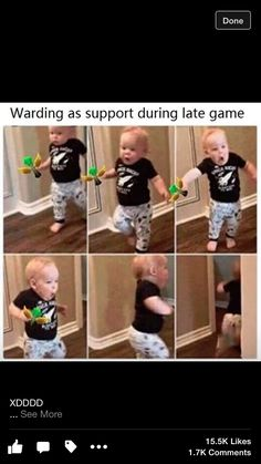 Warding as support late game
