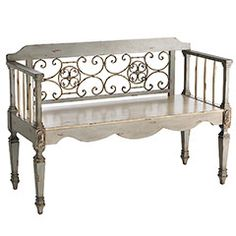 These is so cute for extra seating. I'd like to picture is with a couple of pretty, little cushions.