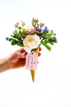 DIY Zum Muttertag   Blumige Einladung