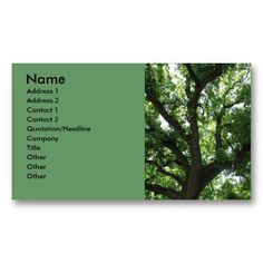 20 best tree service business cards images on pinterest business majestic tree business card colourmoves