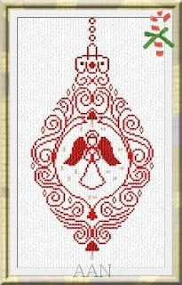 Angel Ornament christmas cross stitch chart NEW just released. Get your copy now. Shop Crazy Annie's Stitchin