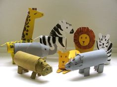 A Rhino and a Hippo roll up to the Zoo Cardboard tube crafts! A Rhino and a Hippo roll up to the Zoo Kids Crafts, Animal Crafts For Kids, Preschool Crafts, Diy For Kids, Arts And Crafts, Summer Crafts, Hippo Crafts, Alphabet Crafts, Cardboard Tube Crafts