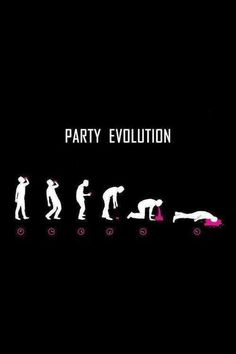 Hangover - party evolution