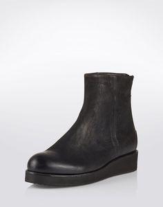 Flache Stiefeletten von Billi Bi - EDITED.de Chelsea Boots, Wedges, Ankle, Shoes, Fashion, Low Ankle Boots, Moda, Zapatos, Wall Plug