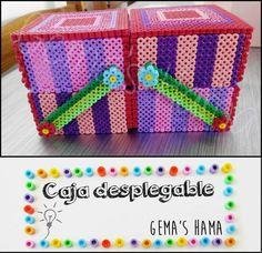 Box hama beads by Gema's Hama