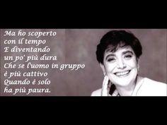 Mia Martini - GLI UOMINI NON CAMBIANO + testo - YouTube