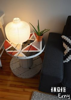 table bobine diy touret cablestool