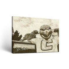 finest selection 4a9cd dcb4b Victory Tailgate NCAA Sketch Version Framed Graphic Art on Wrapped Canvas. Chattanooga  MocsUniversity Of TennesseeCanvas ...