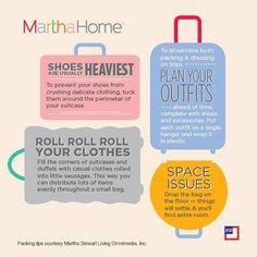 Great packing tips...