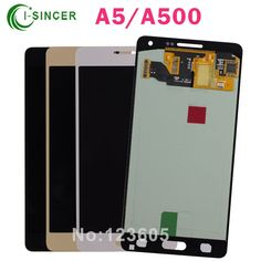 (365.00$)  Watch here - http://ai3b1.worlditems.win/all/product.php?id=32792621084 - 5PCS/LOT For Samsung For Galaxy A5 A500 LCD Screen Touch Display Digitizer Assembly Free DHL