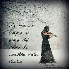 La musica es medicina para el alma