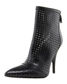 Alexander Wang Perforated Bootie  I have this one!!  In wine color