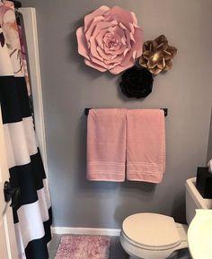 bathroom decor ideas themes & bathroom decor - bathroom decor ideas - bathroom decor ideas colors - bathroom decor apartment - bathroom decor ideas on a budget - bathroom decor ideas themes - bathroom decor ideas small - bathroom decor modern Girl Bathroom Decor, Modern Bathroom Decor, Modern Decor, Bedroom Decor, Bathroom Theme Ideas, Bathroom Towel Decor, Budget Bathroom, Teen Girl Bathrooms, Paris Theme Bathroom