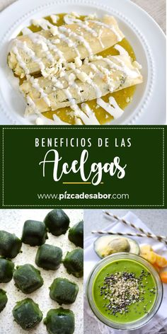 Acelgas www.pizcadesabor.com Mexican Food Recipes, Camembert Cheese, Cooking Recipes, Favorite Recipes, Stuffed Peppers, Bread, Food And Drink, Healthy, Plant Based