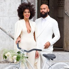 #Solange does bridal beauty on a completely different level! Beautiful! #NaturalHair #Afro #Wedding #Love