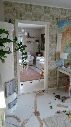 Inspiration Boards, Ladder Decor, Wall Papers, Interior, Furniture, Decoration, Home Decor, Ideas, Decor