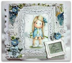 Anything goes at Fashionista, some changes and DT call!!! - Magnolia cards by Barbara GR