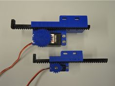 This is a general purpose linear servo actuator (pusher style). Two sizes have been designed, for different space constraints and force outputs. Cnc, Arduino Board, Modelos 3d, Diy Electronics, 3d Printing, Cool Stuff, Prints, Projects, Facade