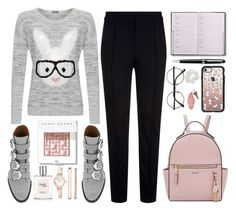 """""""Bunny Fashion"""" by deeyanago ❤ liked on Polyvore featuring Escada Sport, Nine West, Givenchy, Bobbi Brown Cosmetics, WearAll, Anne Klein, Montblanc, Casetify, Mudd and springhome"""