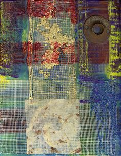 Encaustic Art Mixed Media by Russell White