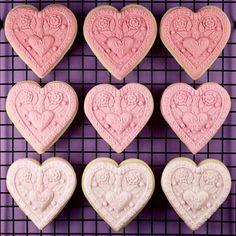 Pink Ombré Cookies