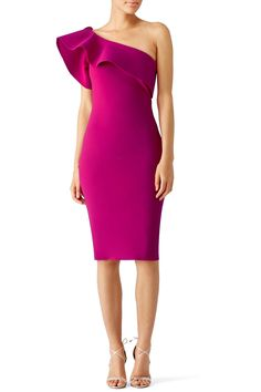 Rent Magenta Elisse Dress by La Petite Robe di Chiara Boni for $120 only at Rent the Runway.