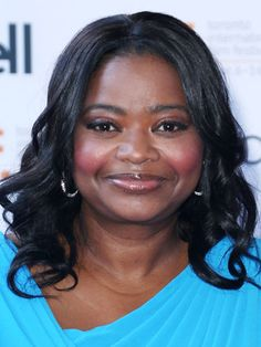 Shoulder-length: Octavia Spencer - Spencer's shiny curls are proof that glossy hair can shave years off of your age. To get her healthy sheen, talk to your stylist about applying a clear glaze that will boost your natural color.  - Redbook