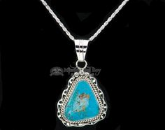 Authentic Native American silver pendants and necklaces are handcrafted with intricate detail and are perfect accessories for a genuine Southwest look.