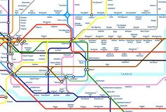 London Underground: 14 alternative Tube maps