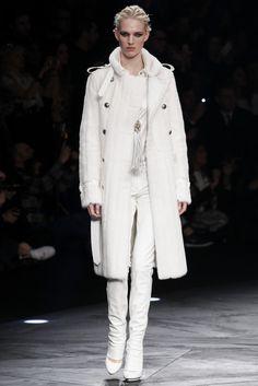 Cappotto lungo Roberto Cavalli collezione autunno inverno 2015